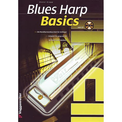 libro the harmonica voggenreiter blues harp basics 171 libros did 225 cticos