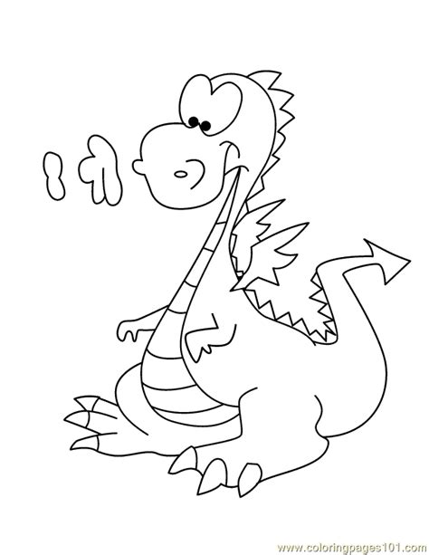 coloring pages dragon cartoons gt dragon fantasy free