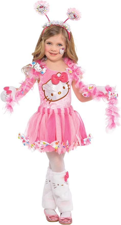 hello kitty toddler halloween costume create your own girls pink hello kitty costume