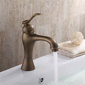 Antique Brass Bathroom Sink Faucets Centerset Antique Brass Bathroom Faucet Faucetsuperdeal Com