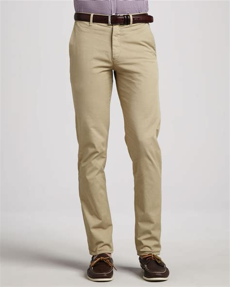 Chinopants Zlstore khaki chinos theory stretch chino beige where to buy how to wear