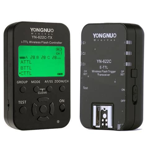 yongnuo yn622c kit triggers for canon yongnuo store