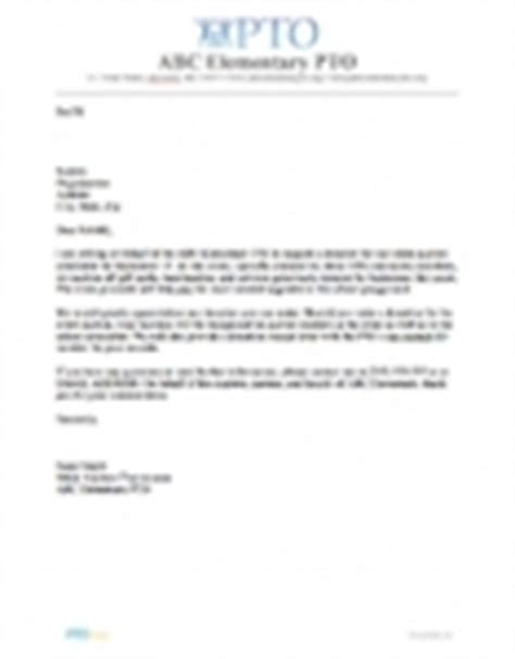 Donation Letter For National Out Fundraiser Forms Letters Pto Today