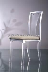 Clear Acrylic Dining Chairs High Back Clear Acrylic Dining Chair With Cushion View Acrylic Chair Acrylic Wedding Chair