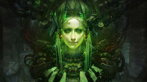 fantasy art cyberpunk wallpapers hd desktop  mobile
