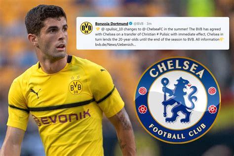 christian pulisic to chelsea christian pulisic joins chelsea for 163 58m deal with a twist