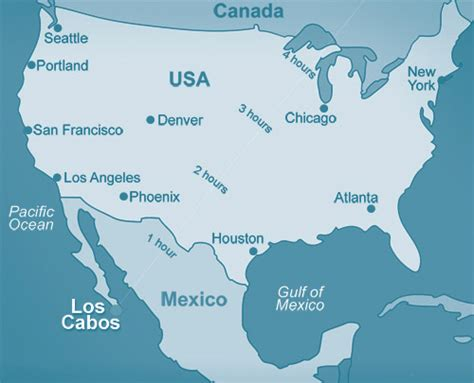 map of united states and cabo san lucas mexico cabo san lucas what you should