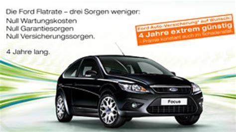 Auto Versicherung Inklusive by Ford Erweitert Quot Flatrate Quot Angebot Autohaus De