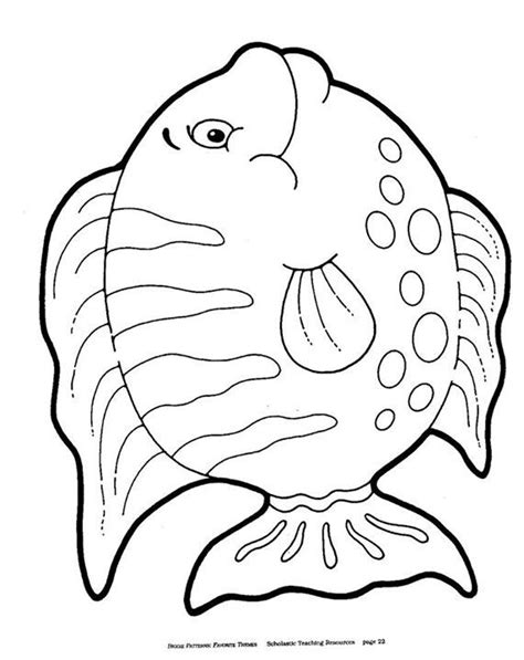 coloring pages of tiger fish tiger fish coloring pages pic 20 coloringpages101 com 45