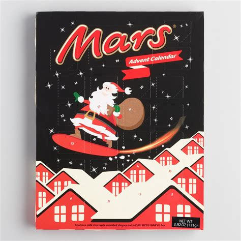 Chocolate Advent Calendar Mars Chocolate Advent Calendar World Market