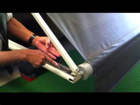 Dometic Awning Motor Replacement How To Setup A Dometic Awning Youtube