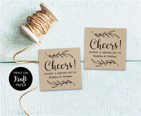 drink token template drink tickets drink token printable wedding drink tickets