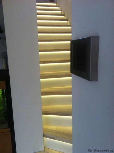 beleuchtung stiege led beleuchtung treppenstufen kreative ideen f 252 r