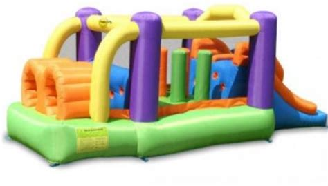 Murah Obstacle Course Bouncer Happy Hop 9063 birthday ideas and in metro
