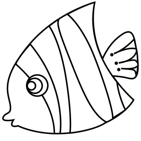 tropical fish free colouring pages