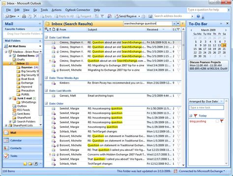 Search Outlook Emails For Keywords Performing Advanced Search Queries In Microsoft Outlook 2007