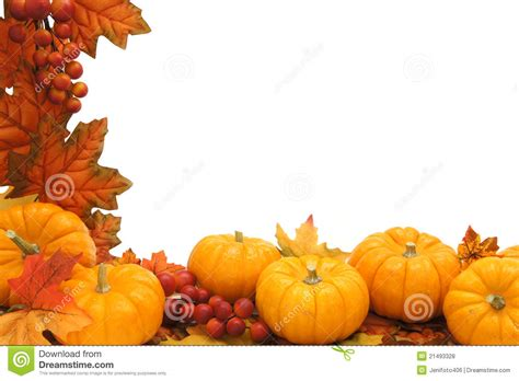 Fall Border Templates Free