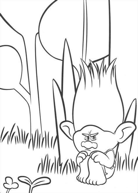 imagenes para pintar trolls trolls dibujos para colorear
