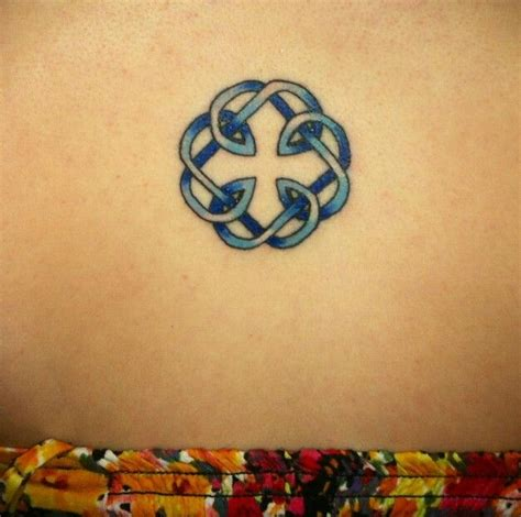 my tattoo its the celtic knot symbol for the bond