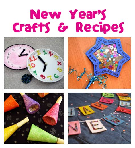 new year craft new year s crafts recipes family crafts