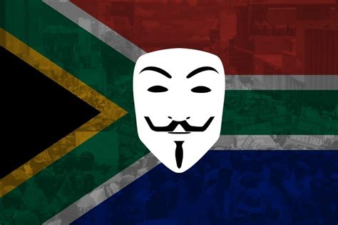 anonymous africa the hackers who are taking on south anonymous attacks anti white movements in south africa and