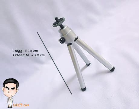 Tripod Kamera Saku tripod mini kamera digital tinggi maksimal 18cm