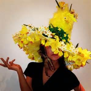 Handmade Easter Bonnet - myleene klass gets into easter spirit with hat