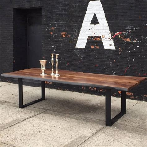 black walnut table for sale sentient signature live edge black walnut slab