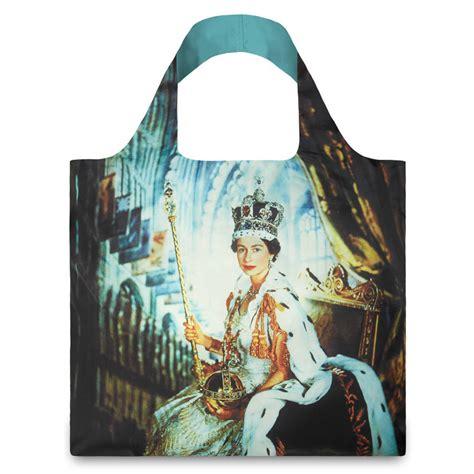 queens purse loqi queen elizabeth shopping bag by stone