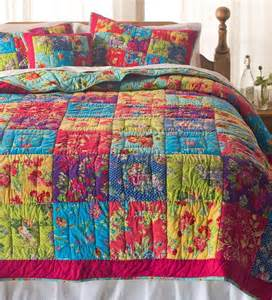 king gemma floral patchwork cotton quilt set quilts and