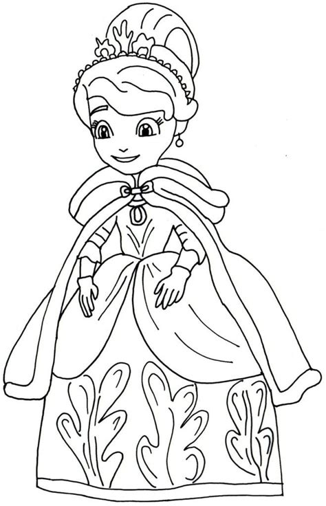 Sofia The First Coloring Pages Az Coloring Pages Princess Sofia Coloring Free Coloring Sheets