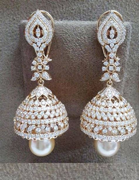 Anting Panjang India Khasmiri Earring 77 77 best jhumki earrings images on gold decorations gold jewellery and gold jewelry