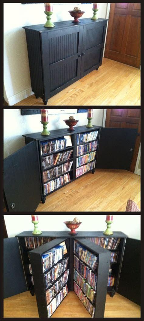 build a dvd cabinet best 25 dvd storage shelves ideas on diy dvd