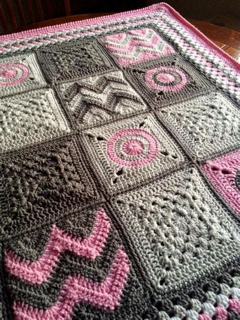 Patchwork Blanket Pattern - modern patchwork blanket craftsy
