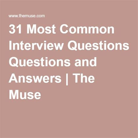 how to answer 10 most common interview questions autos post career infographic how to answer the 31 most common