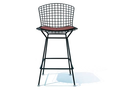 bertoia stool with seat cushion hivemodern com