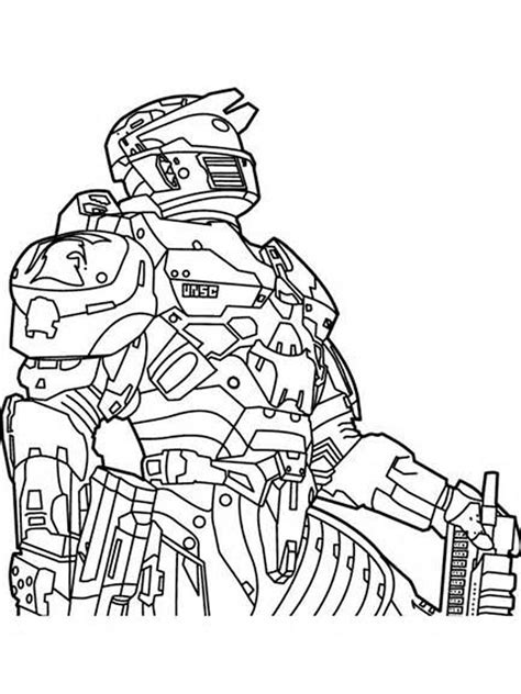 Halo 6 Coloring Pages by Halo Coloring Pages Free Printable Halo Coloring Pages