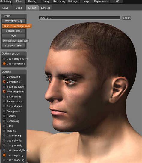 Blender Kris makehuman to blender kris redbeard