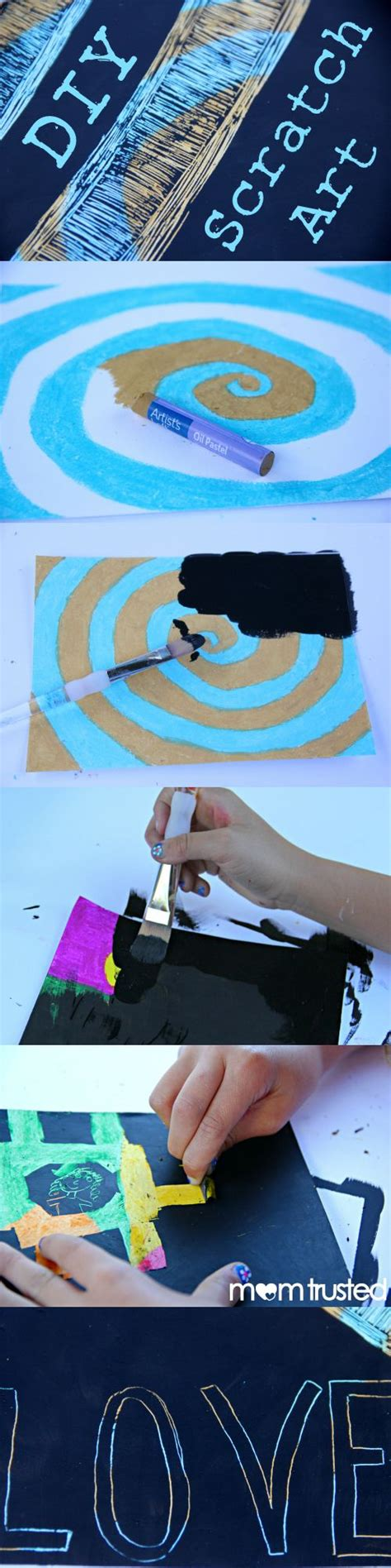 How To Make Scratchboard Paper - 25 best ideas about scratch on moon