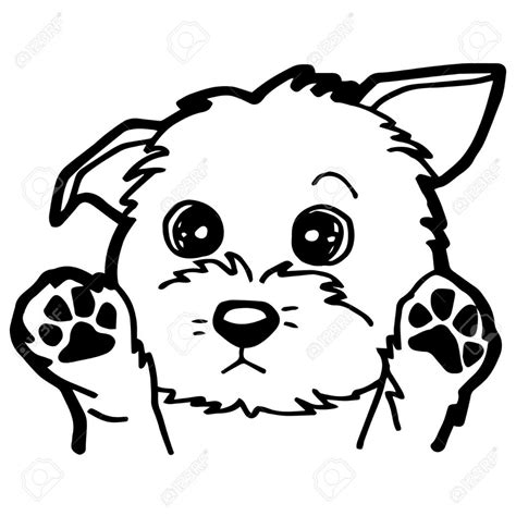 imagenes de perros kawaii para colorear dibujo de un perro para colorear affordable dibujo de un