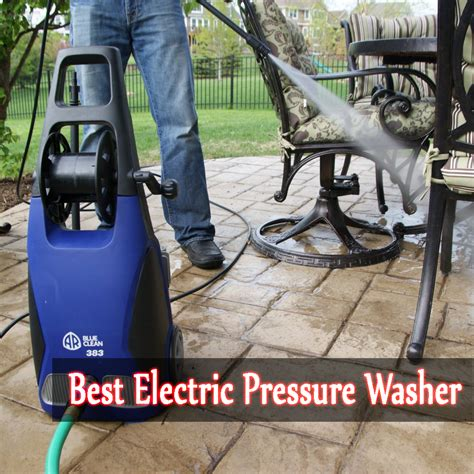 Top 5 Home Power Washers - the best electric pressure washer reviews