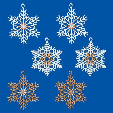 Weihnachtsdeko Fenster Schneeflocke by Gardinen Welt Shop Baumbehang Schneeflocken 6er