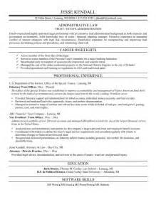 Prosecuting Attorney Sle Resume by Resume Exle Attorney Resume Sles Free Corporate Attorney Resume Litigation Attorney