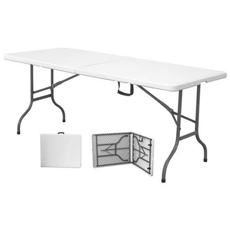 tavolo pieghevole plastica tavolo pieghevole 183x76x74 catering mondobrico tavoli