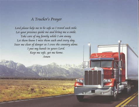 a s prayer truckers prayer images