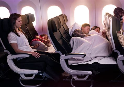 why you should upgrade to air new zealand s economy skycouch flight centre uk
