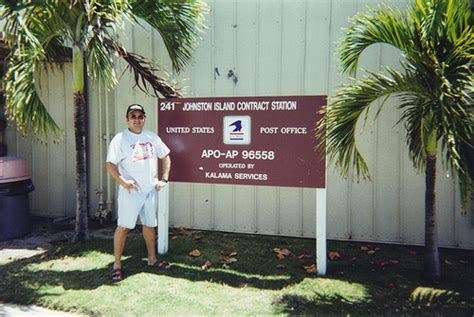 Johnston Post Office by Me At The Johnston Atoll Post Office 2000 The Post