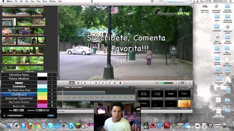 tutorial para imovie facil tutorial para editar con imovie imac youtube