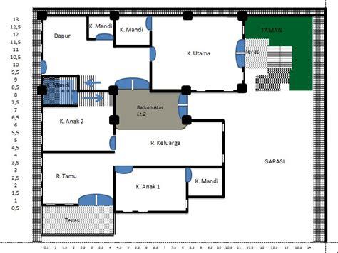 cara membuat layout bangunan cara mudah mendesain denah rumah dengan excel sioot com