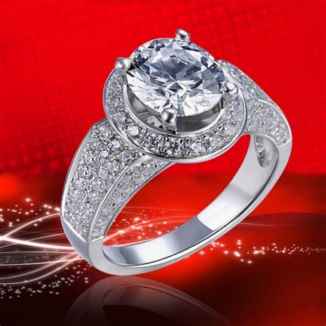 high  luxury jewelry  silver inlaid cubic zirconia